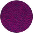 rug #176549 | round blue animal rug