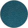 rug #176569 | round blue-green natural rug