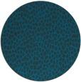 rug #176601 | round blue animal rug