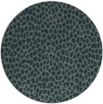 rug #176649 | round blue-green natural rug