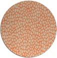 rug #176717 | round orange rug