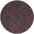 rug #176753 | round purple animal rug