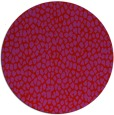 rug #176773 | round red natural rug