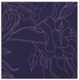 rug #177321 | square blue-violet rug