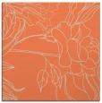 rug #177421 | square orange natural rug