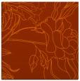 rug #177481   square red-orange graphic rug