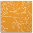 rug #177573 | square light-orange graphic rug