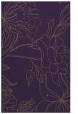 rug #178161 |  purple graphic rug