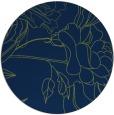 rug #178317 | round blue graphic rug