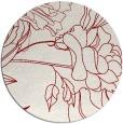 rug #178476 | round graphic rug
