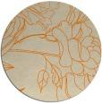 rug #178597 | round beige rug