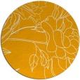 rug #178617 | round light-orange natural rug