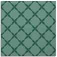 rug #179041 | square blue-green rug