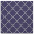 rug #179073 | square blue-violet rug