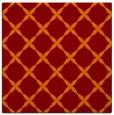rug #179173 | square red-orange traditional rug