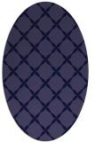 rug #179421 | oval blue-violet traditional rug