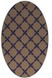 rug #179445 | oval blue-violet traditional rug
