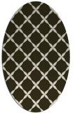 rug #179513 | oval traditional rug