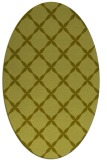 rug #179657 | oval light-green rug