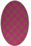 rug #179665 | oval light-green rug