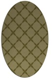 rug #179669 | oval light-green rug