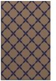 rug #179797 |  blue-violet geometry rug