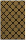 rug #179805    mid-brown geometry rug