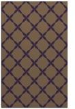 rug #179921 |  purple geometry rug