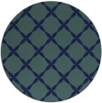 rug #180073   round blue traditional rug