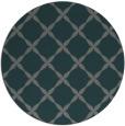 rug #180169 | round blue-green rug