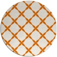 rug #180233 | round orange popular rug