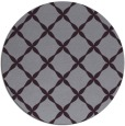 rug #180277   round purple traditional rug