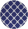 rug #180321 | round white traditional rug