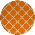 rug #180357 | round orange geometry rug