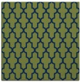 rug #180781 | square green traditional rug