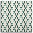 rug #180877 | square blue-green traditional rug
