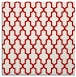 rug #180985 | square red traditional rug