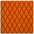 rug #180989 | square red traditional rug