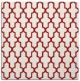 rug #180993 | square red traditional rug