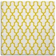 rug #181045   square yellow geometry rug