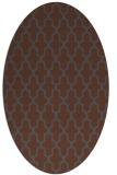 rug #181108 | oval traditional rug