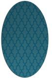 rug #181152   oval geometry rug