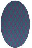 rug #181162 | oval geometry rug
