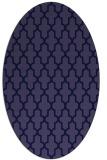 rug #181181 | oval blue-violet traditional rug