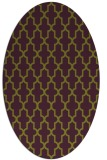 rug #181326 | oval traditional rug