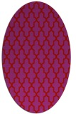 rug #181349 | oval red traditional rug