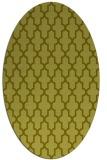 rug #181417 | oval light-green popular rug