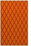 rug #181693 |  red geometry rug