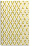rug #181749 |  yellow traditional rug
