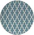 rug #181825 | round white traditional rug